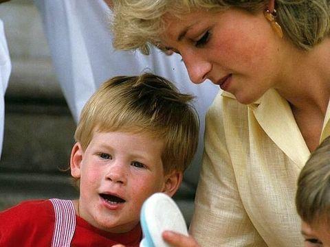 Putri Diana dan Pangeran Harry