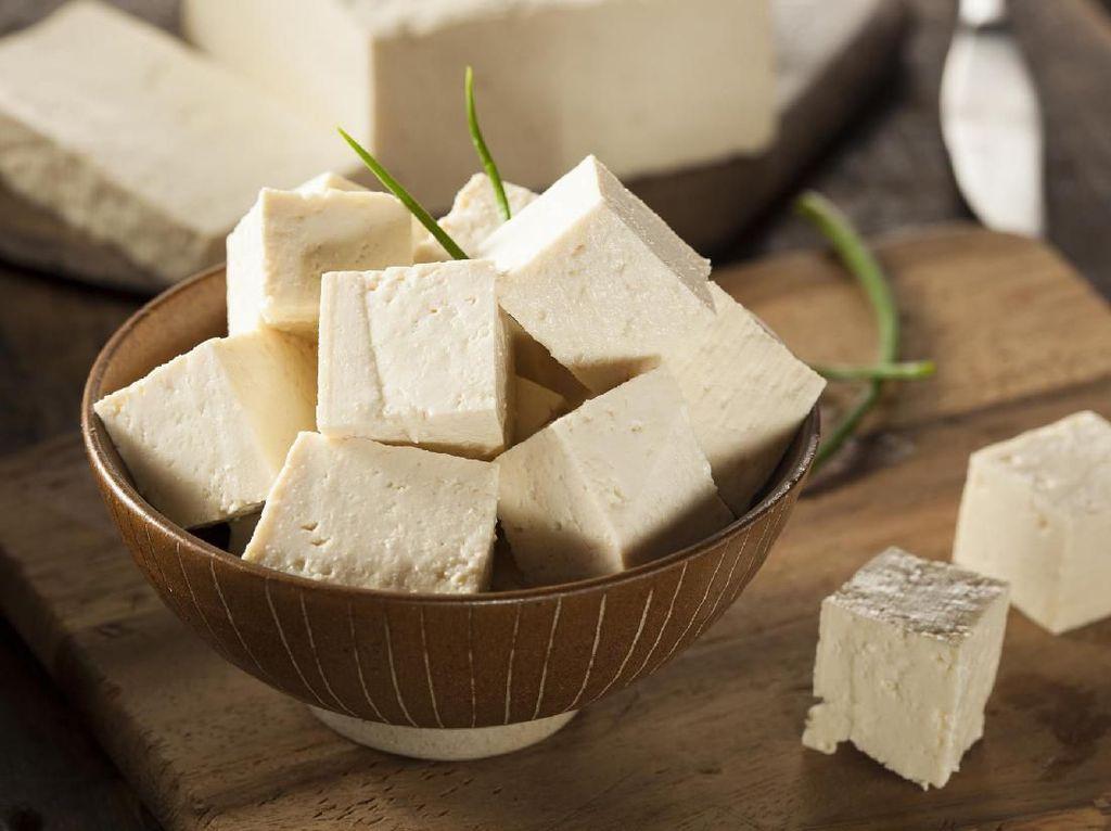 Masak Apa Hari Ini : Sup Tofu dan Rempeyek Udang