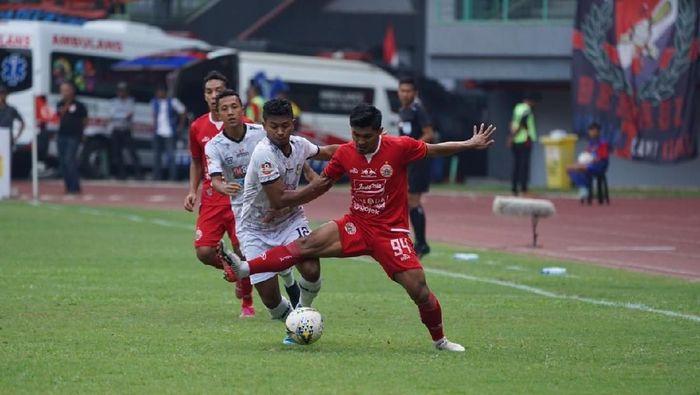 Tira Persikabo tumbang dari Persija Jakarta karena buang-buang peluang. (Foto: dok.Persija Jakarta)
