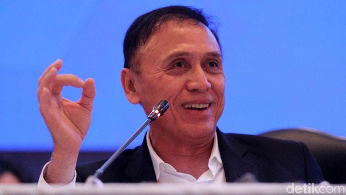 Ketum PSSI Mochammad Iriawan membuka kans merekrut Shin Tae-yong dan Luis Milla sekaligus. (Foto: Rifkianto Nugroho)