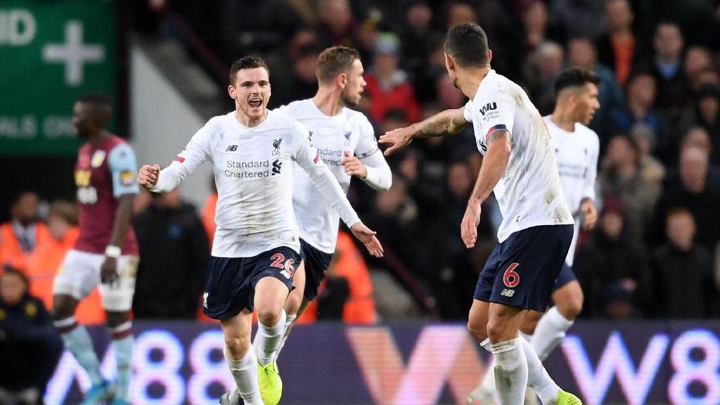 Drama di Villa Park, The Reds Menang