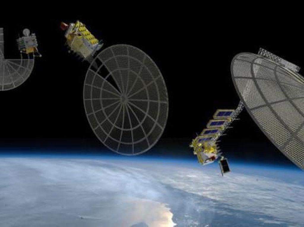Pabrik Satelit di Antariksa Segera Terwujud