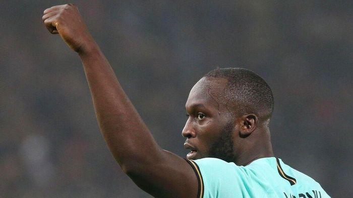 Romelu Lukaku tak bisa berhenti mencetak gol untuk Inter Milan. (Foto: Giorgio Benvenuti/ANSA via AP)