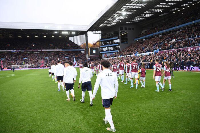 Laga pekan ke-11 antara Aston Villa vs Liverpool digelar di Villa Park, Sabtu (2/11/2019) malam WIB. Laurence Griffiths/Getty Images.