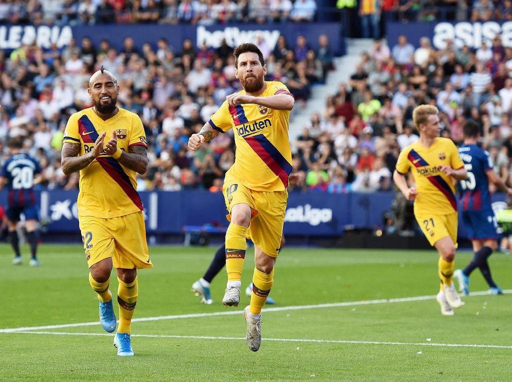 Klasemen Liga Spanyol: Barcelona, Madrid, Sociedad di Tiga Teratas