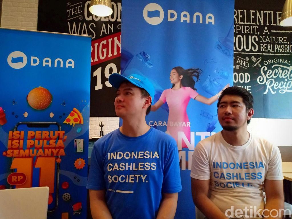 Setahun di Indonesia, DANA Hampir Tembus 30 Juta User
