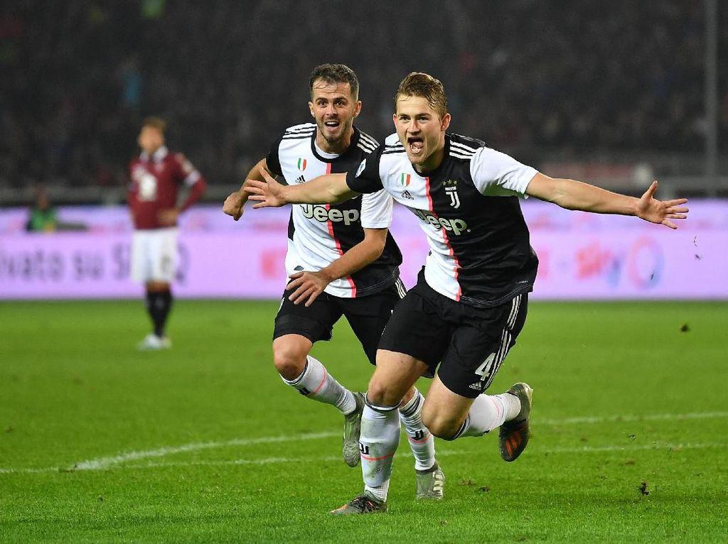Bertahanlah di Juventus Beberapa Tahun Lagi, De Ligt