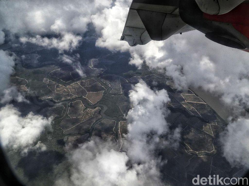 Menyambangi Pulau Nunukan Lewat Udara