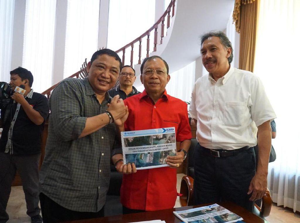 Koster Sudah Setuju, Penataan Pelabuhan Benoa Jalan Lagi