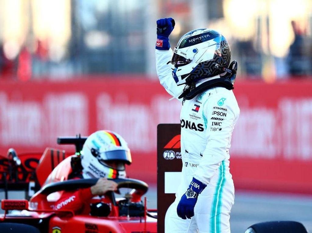 Valtteri Bottas Raih Pole GP Amerika Serikat
