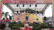 Etape II Tour de Singkarak Tuntas, Jesse Ewart Menang lagi
