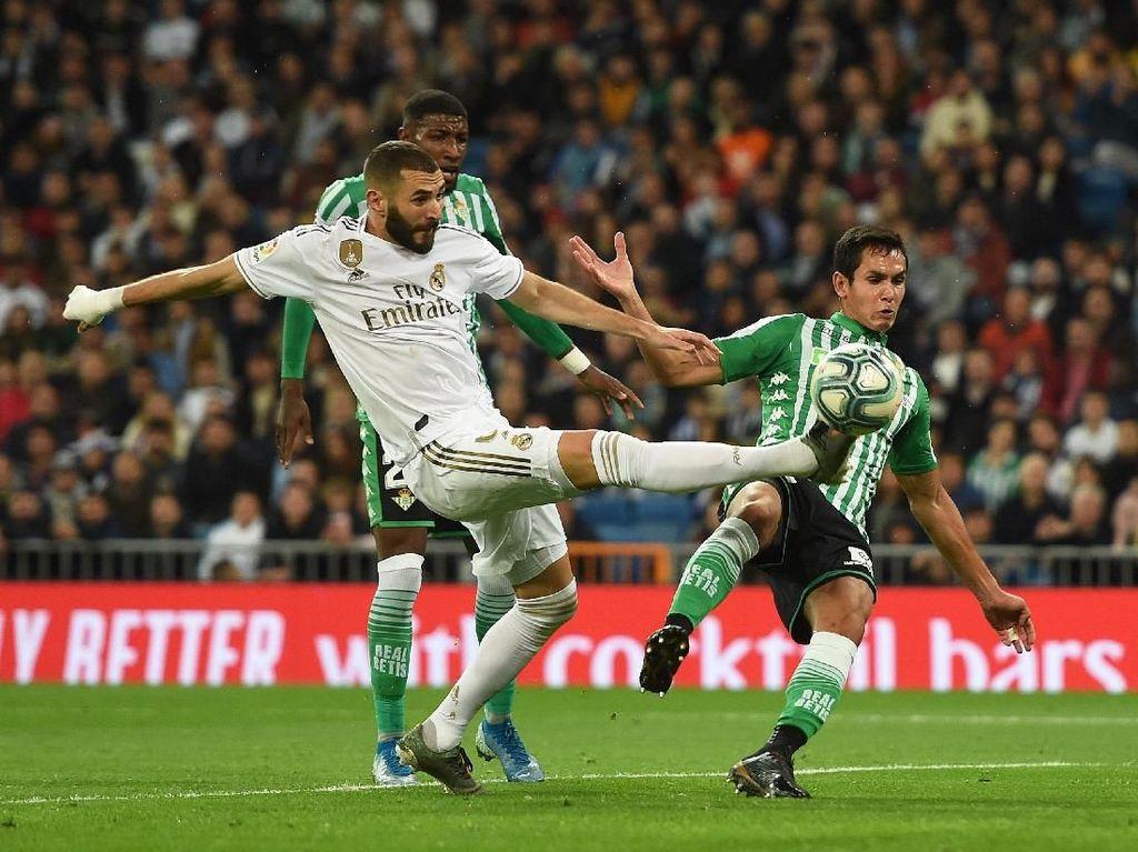 Ditahan Imbang Real Betis, Real Madrid Gagal Rebut Puncak Klasemen