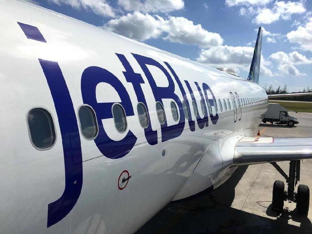 Pemesanan Tiket Melonjak, JetBlue Minta Pilot dan Pramugari Siap-siap Terbang Lagi