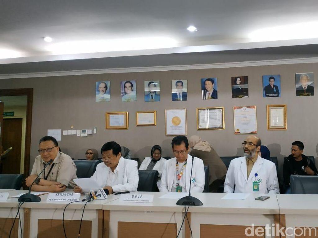 Tahapan Operasi Pemisahan Kembar Siam Ardi-Ardan di RSAB Harapan Kita