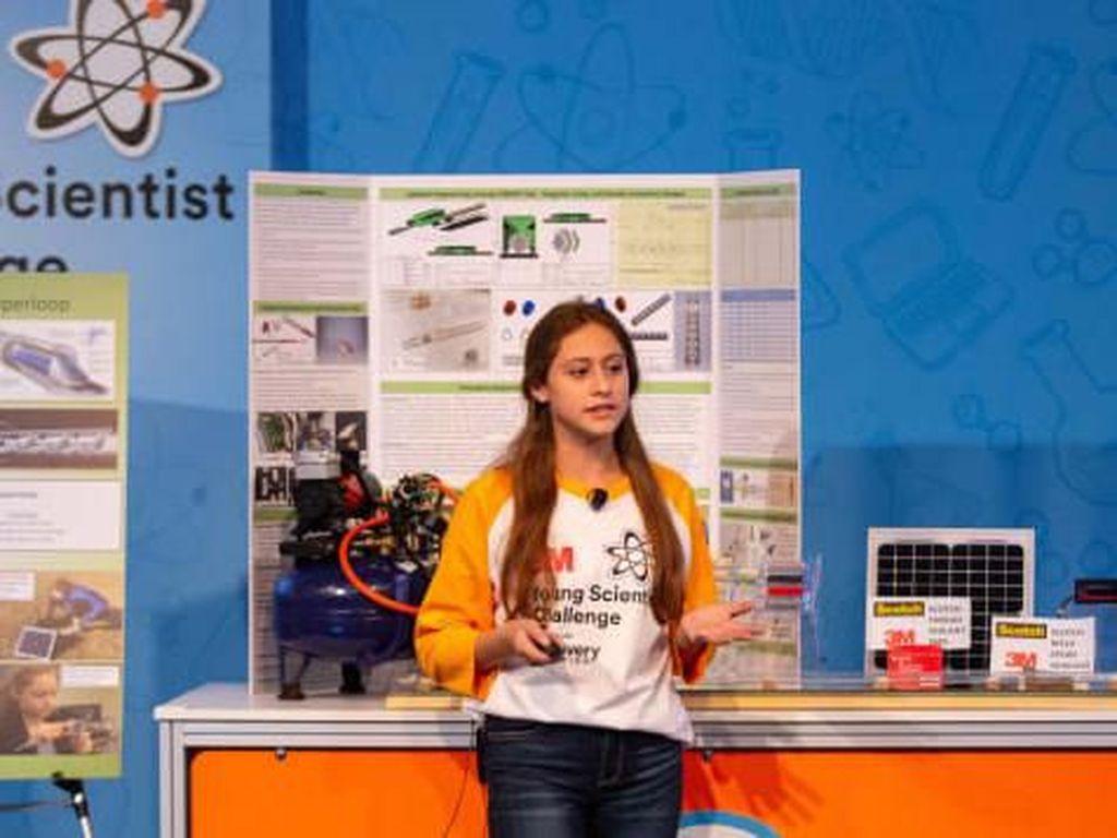 Desain Kereta Cepat Gadis 13 Tahun Ini Mungkin Ungguli Elon Musk