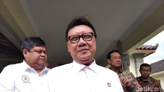 Menteri Pendayagunaan Aparatur Negara dan Reformasi Birokrasi (PAN-RB) Tjahjo Kumolo