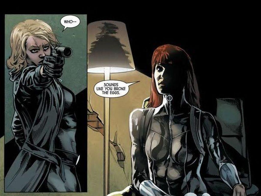 Ada 2 Black Widow di Komik Ini, Loh..
