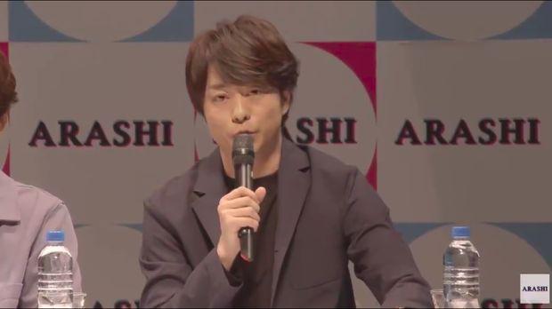 Sho Sakurai, salah satu personil Band Arashi.