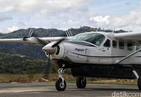 Pesawat perintis yang terbang ke Krayan (Pradita/detikcom)