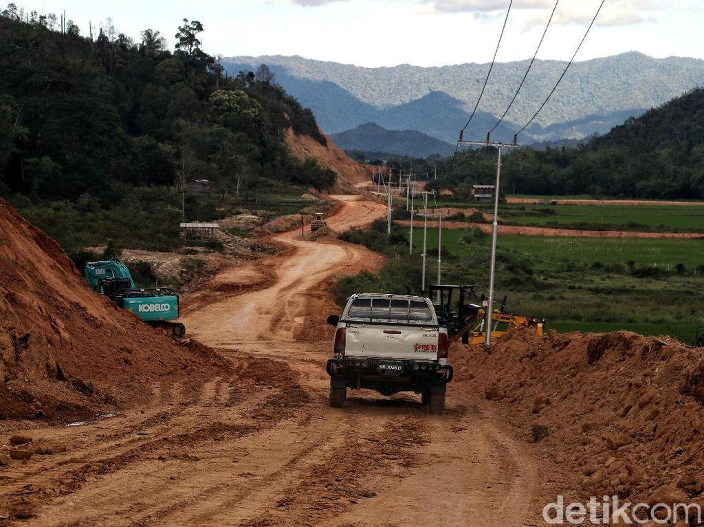 Begini Pembangunan Infrastruktur di Krayan Batas Indonesia-Malaysia