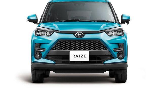 Fasia Toyota Raize