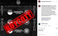 Timnas U-19 Jawab Ancaman Boikot dari Ultras Garuda