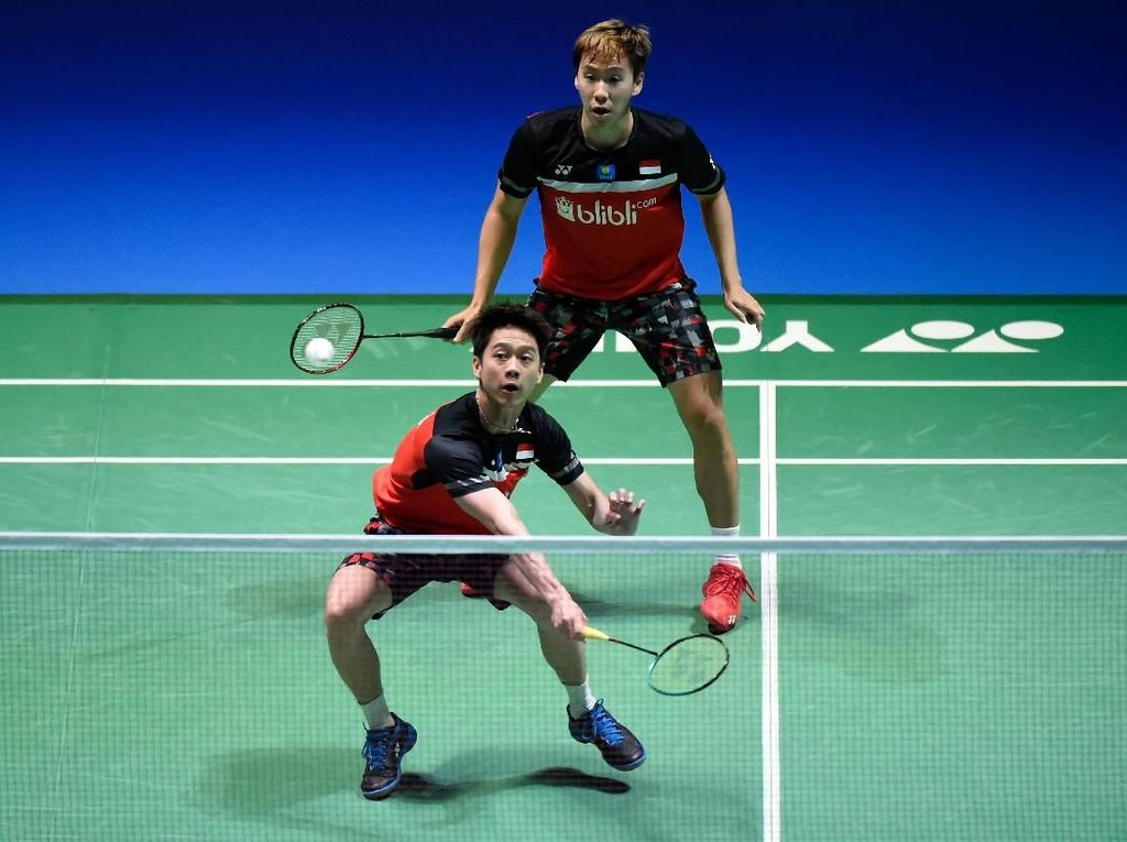 Jadwal Pertandingan Kevin/Marcus di Final Fuzhou China Open