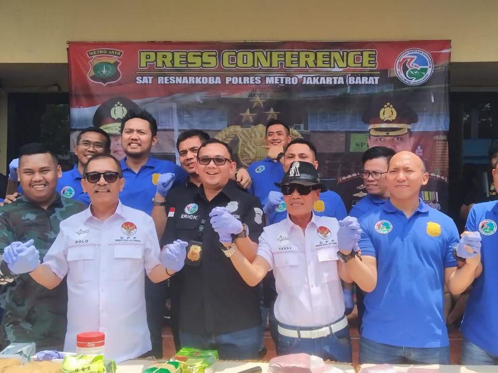 Polres Jakbar Musnahkan 37 Kg Sabu dan 10 Ribu Butir Ekstasi