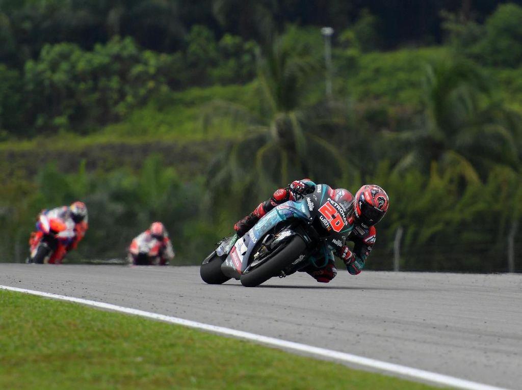 Ban Depan Bikin Quartararo Loyo di MotoGP Malaysia