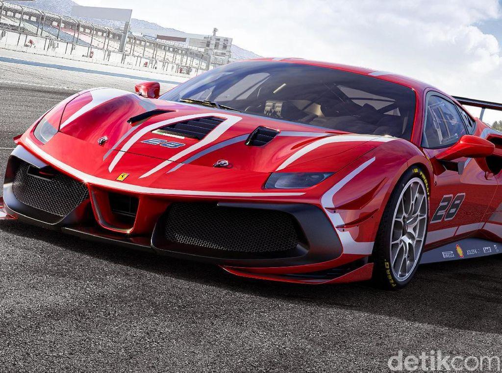 Ferrari 488 Challenge Evo, Siap Ngebut di Trek Balap