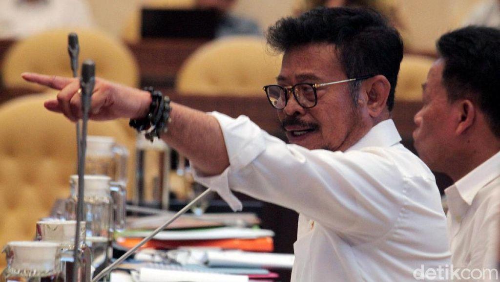 Mentan Syahrul Yasin Limpo Rapat Bareng Komisi IV DPR