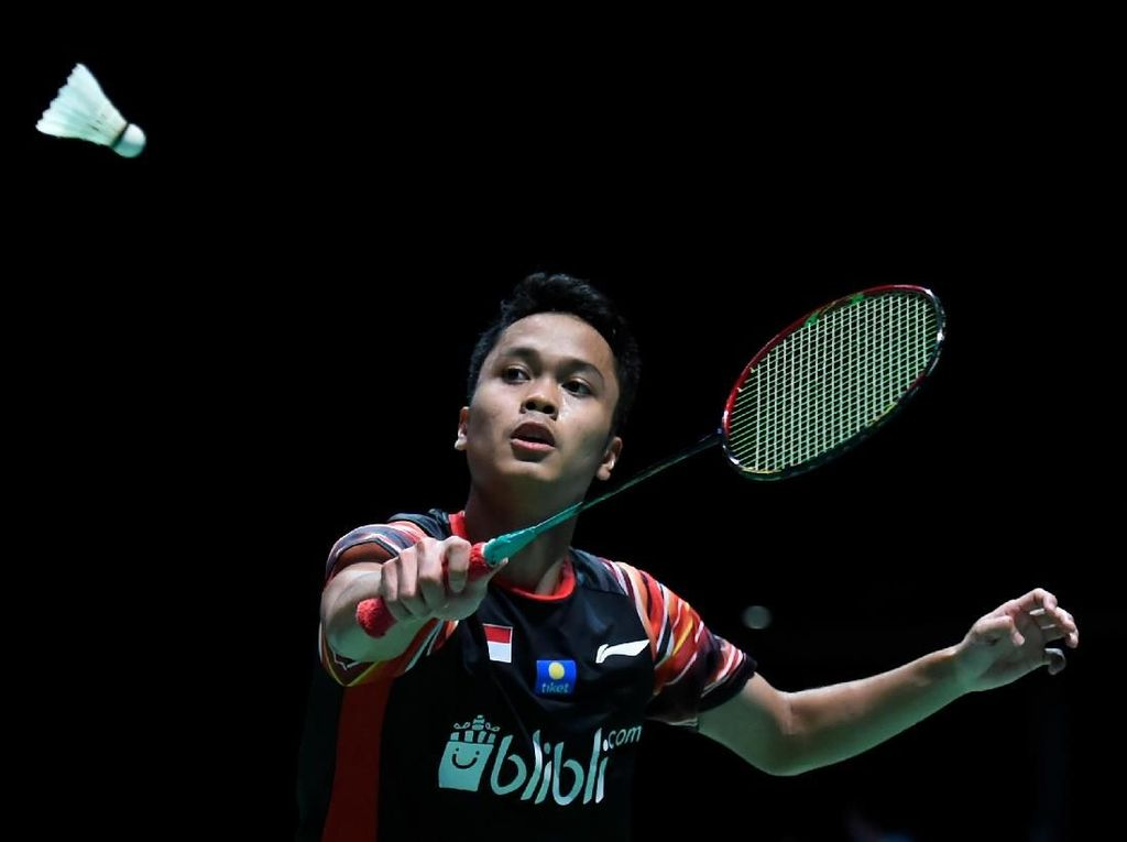 Anthony Ginting Gagal Juara BWF World Tour Finals 2019, Ditaklukkan Momota