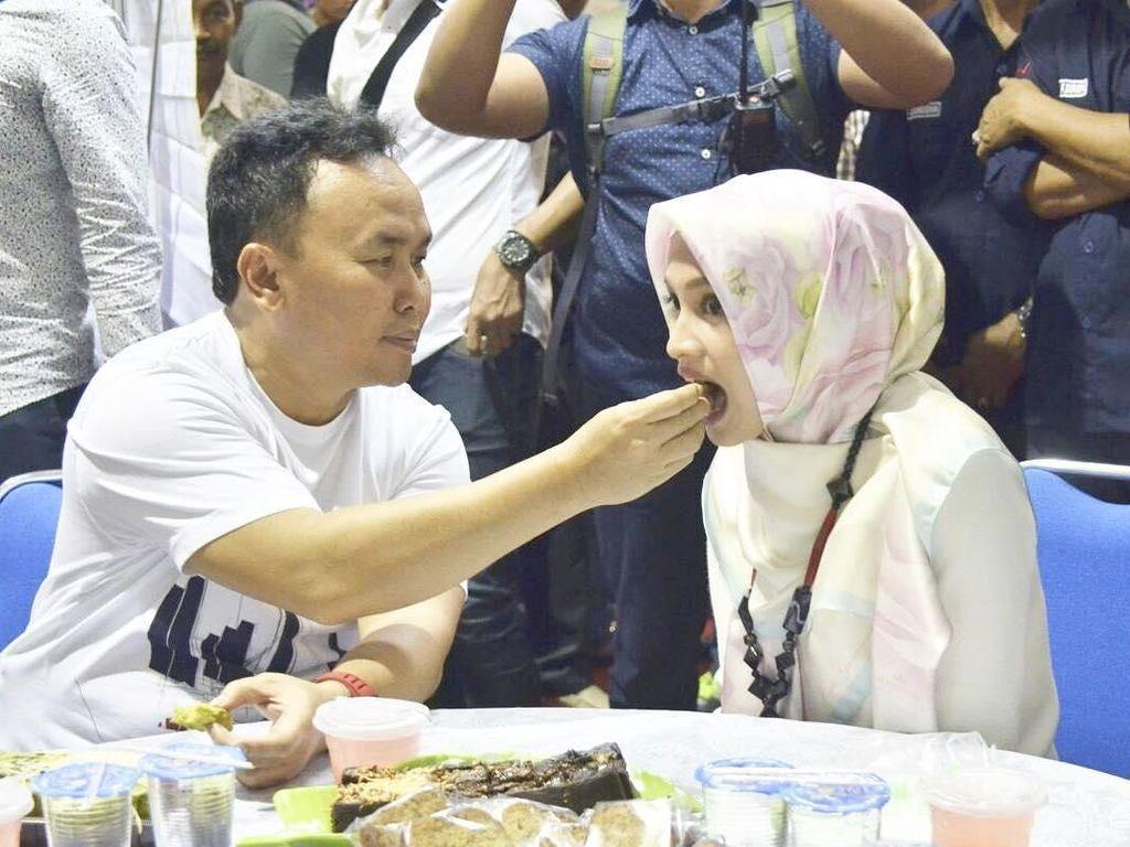 Kulineran Ivo Sugianto Sabran, Istri Cantik Gubernur Kalteng