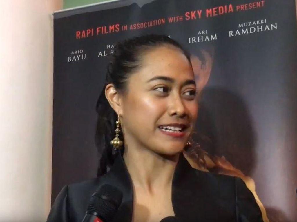 Ritual Putri Ayudya Perankan Sosok Misterius di Film Ratu Ilmu Hitam