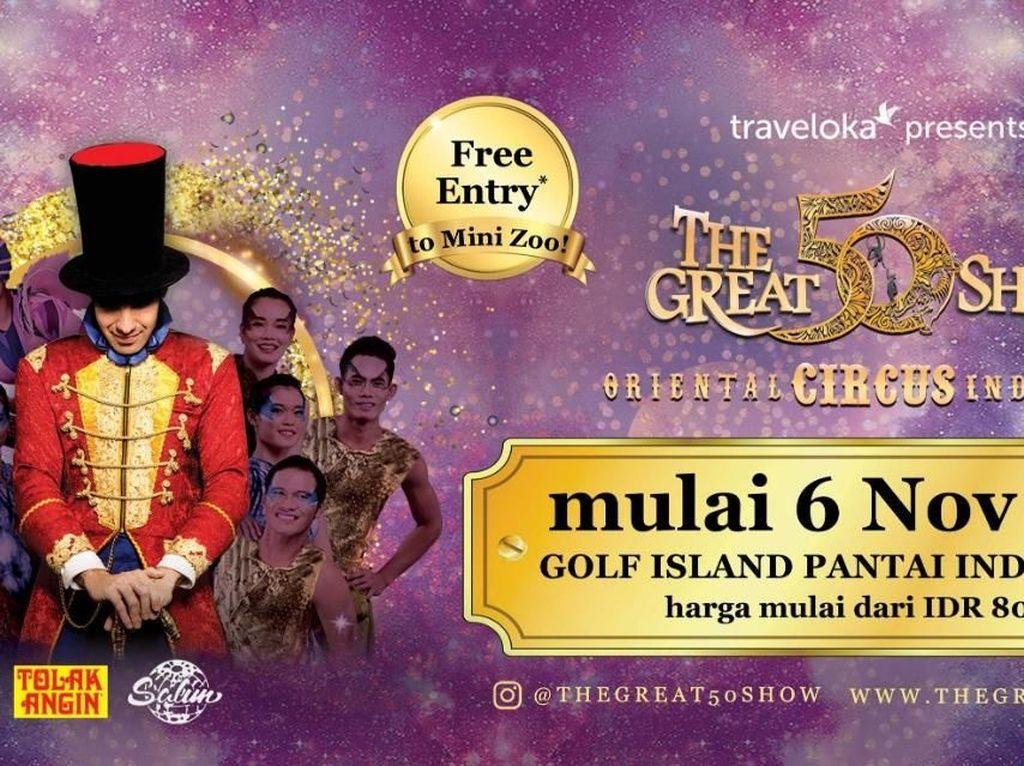 Mulai Besok, Kolaborasi Sirkus Tradisional & Modern Tampil di Jakarta