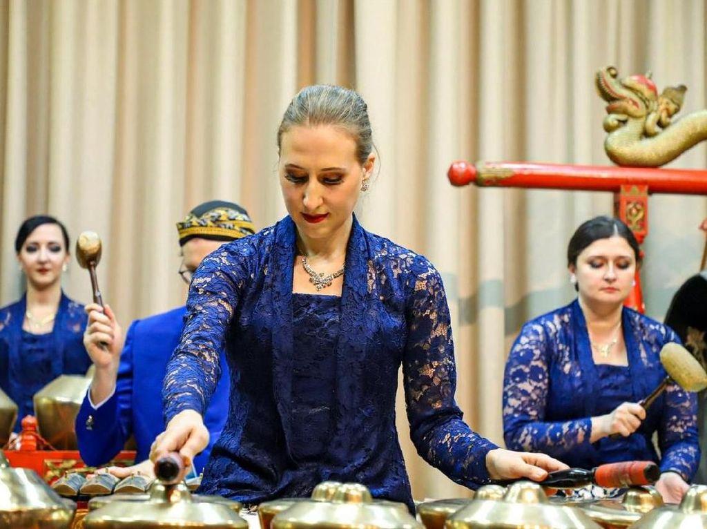 KBRI Moskow Gelar Malam Gamelan di Museum of Oriental Rusia