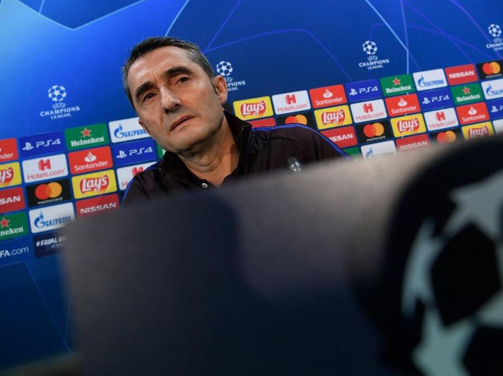 Barcelona Vs Slavia Praha: Valverde di Bawah Tekanan