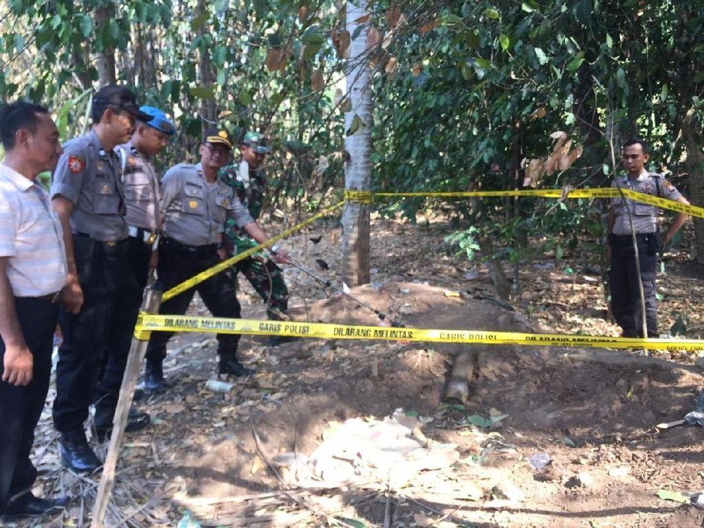 Warga Merak Temukan Mortir Diduga Aktif Seberat 10 Kg