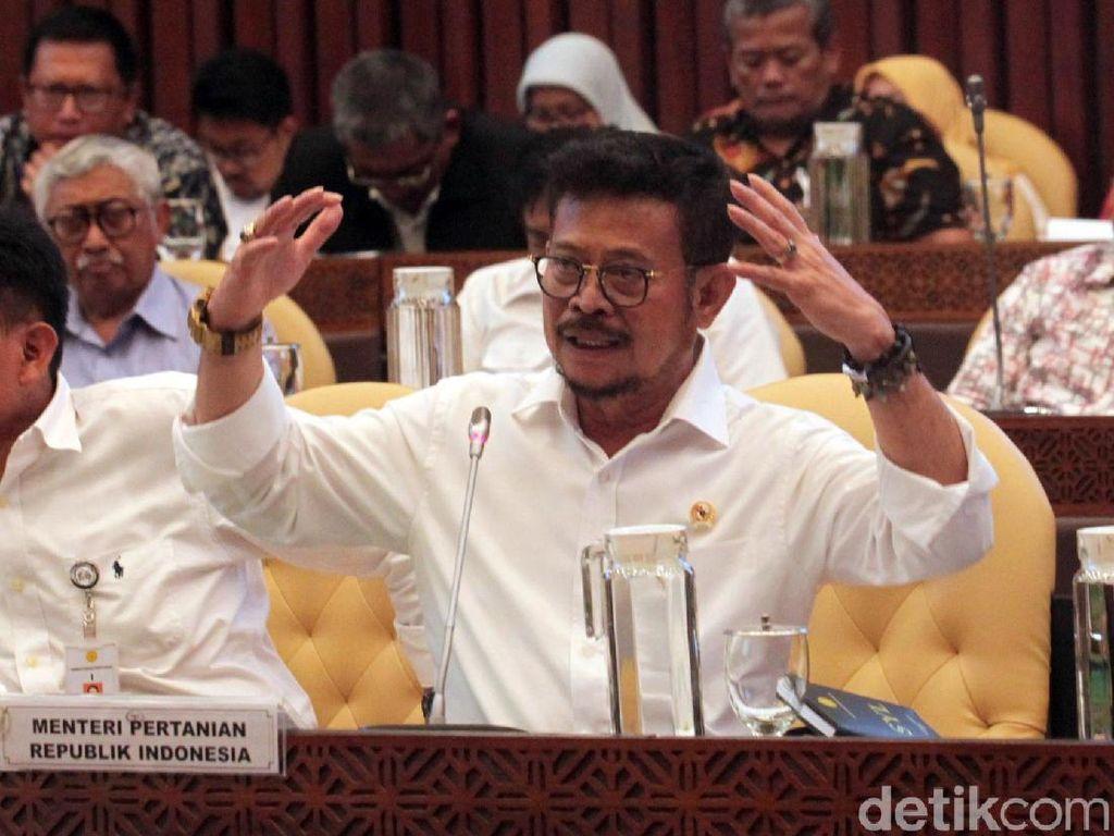 Mentan Ogah Garapannya di Kalteng Dicampur dengan Program Prabowo