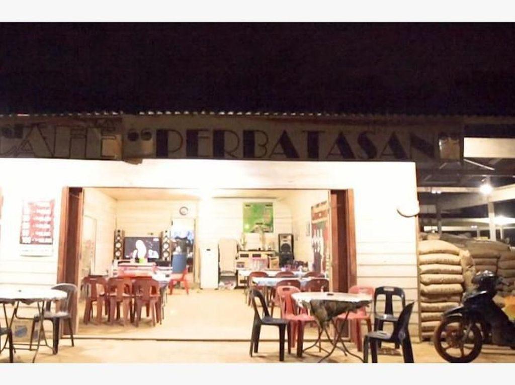 Siapa Sangka di Perbatasan RI-Malaysia Juga Ada Kafe Kekinian