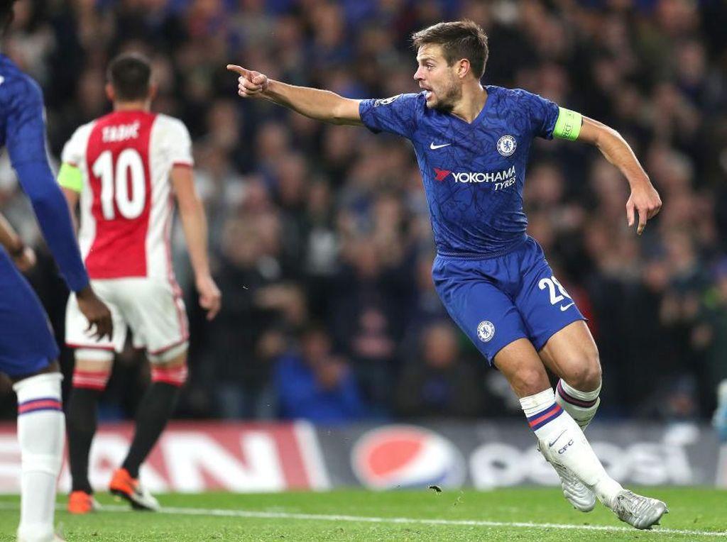 Drama di Stamford Bridge, Chelsea Vs Ajax Tuntas 4-4