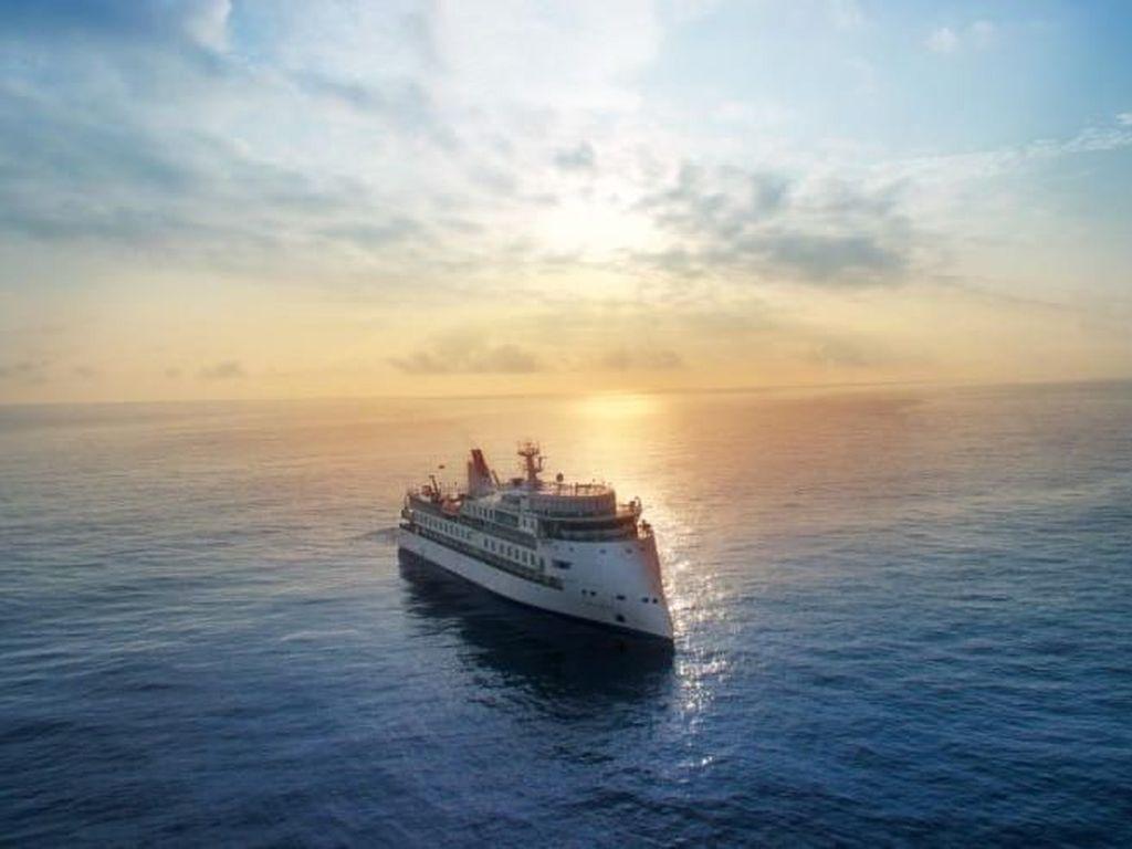 Potret Kapal Pesiar Anti Mabuk Laut