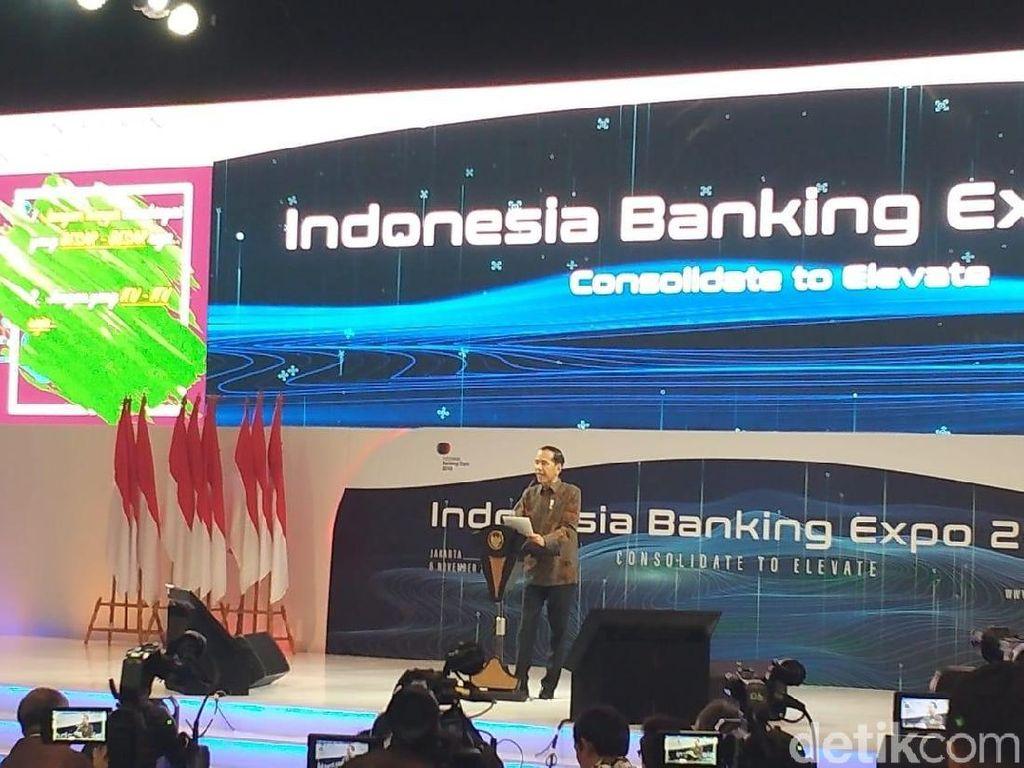 Jokowi Kumpul Bareng Puluhan Bankir di Senayan