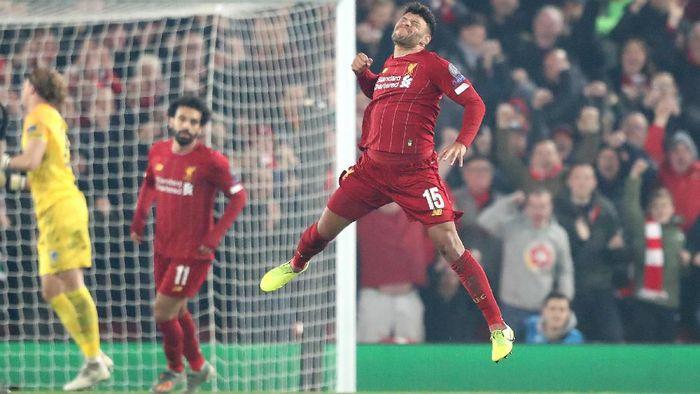 Liverpool sulit dikalahkan di kandang dalam laga-laga Liga Champions. (Alex Pantling / Getty Images)