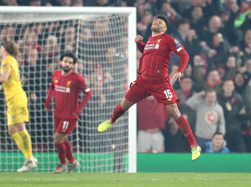 Liverpool Vs Genk: Chamberlain Menangkan The Reds