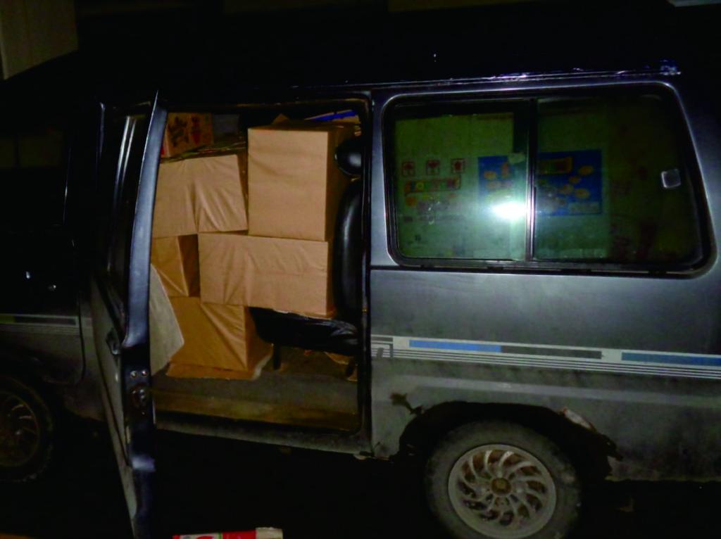 Minibus Angkut 220 Ribu Batang Rokok Ilegal Ditangkap di Kudus