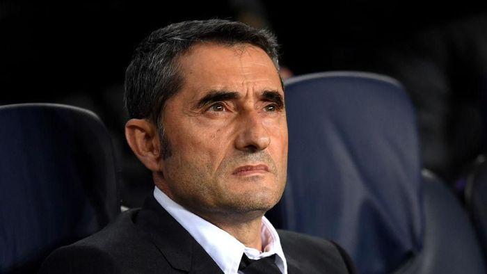 Ernesto Valverde menilai lawan Barcelona di 16 besar Liga Champions, Napoli, adalha tim yang berbahaya (Foto: Alex Caparros/Getty Images))