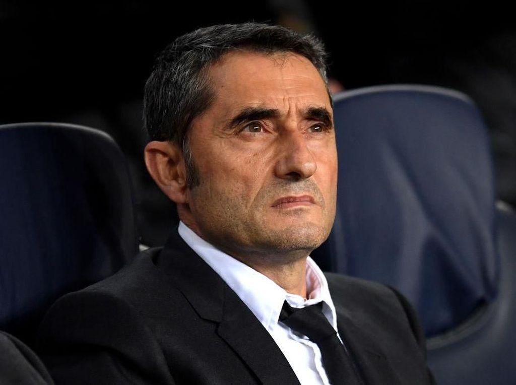 Rapat dengan Presiden Barcelona, Valverde Dipecat?
