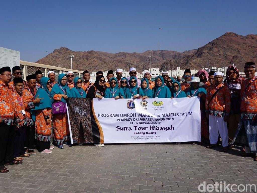 Usai dari Masjid Quba, Marbut-Majelis DKI Wisata Sejarah ke Gunung Uhud