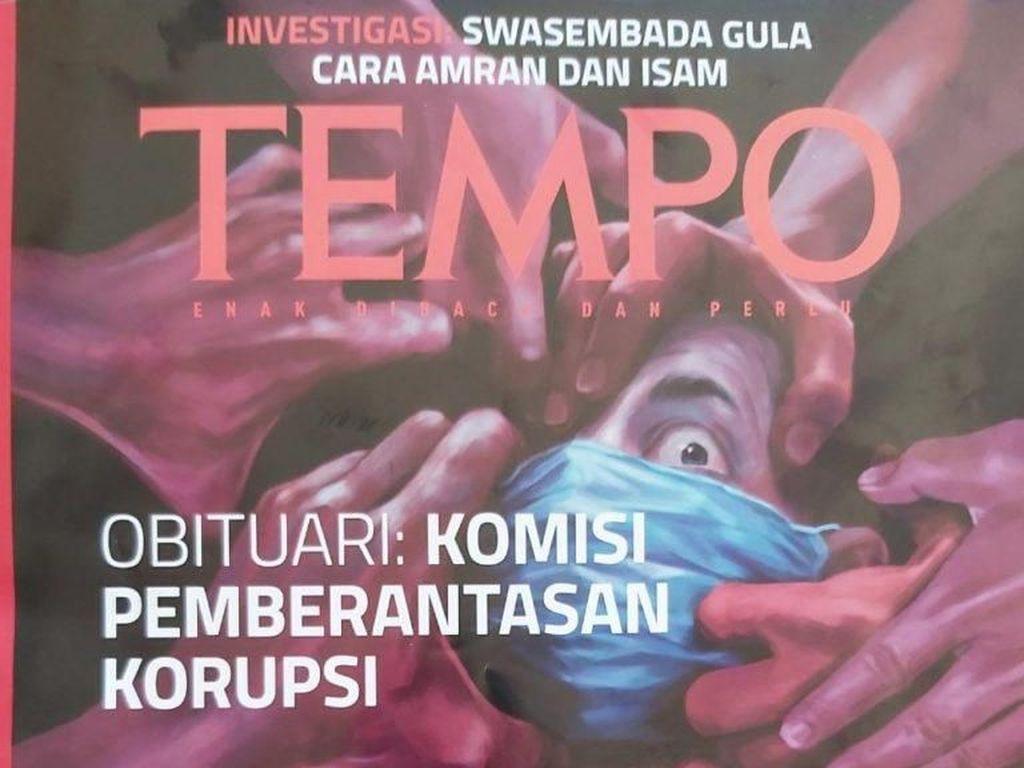 Mentan Gugat Majalah Tempo Rp 100 Miliar karena Berita Investigasi Gula